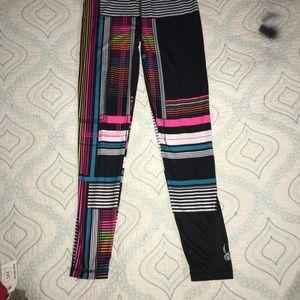 SPYDER Geometric Base Layer Legging Pants M Youth